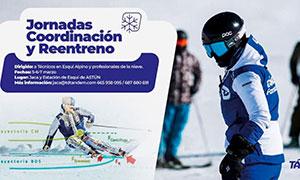 Jornadas de Coordinación y Reentreno para Técnicos en Esquí Alpino Astún